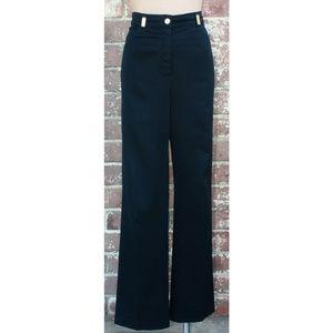 St. John Sport Dark Navy Blue Denim Trouser